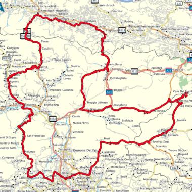 Friuli-Venezia Giulia a slovinský Strmelec na Predelu